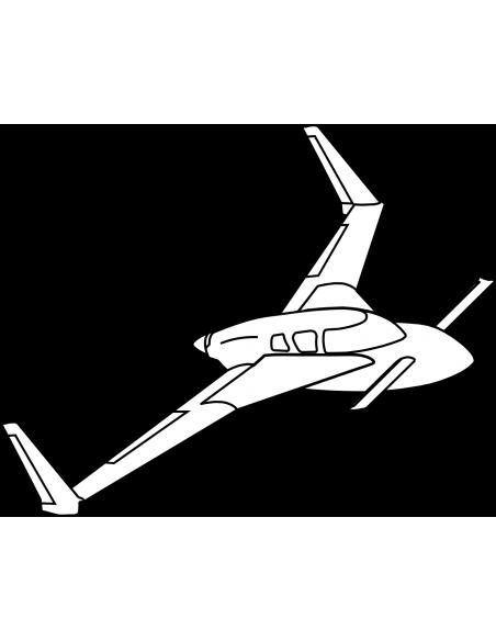 Cozy MKIV Wings w/ Center Spar Set