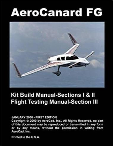AeroCanard FG Kit Build Plans