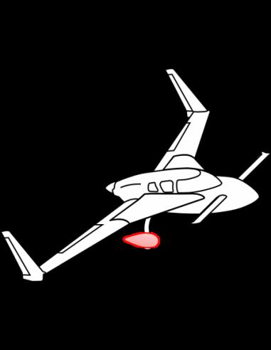 AeroCanard Wheel Pants 5.00X5