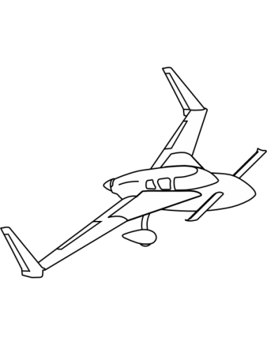 AeroCanard Main Gear to Fuselage Fairing