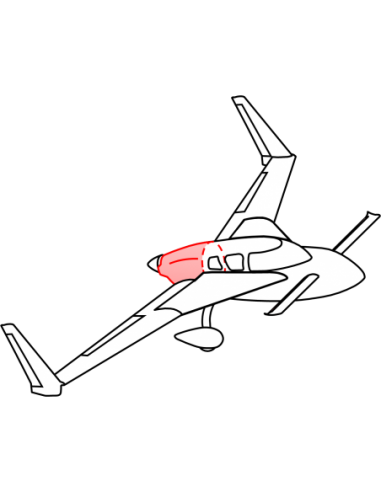 AeroCanard FG Lower Cowling