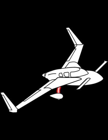 Main Landing Gear Strut - Cozy MKIV