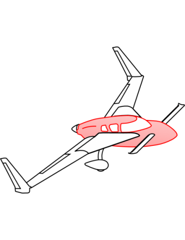 AeroCanard FG Fuselage Top
